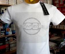 T-shirt maglia uomo Papeete manica corta a girocollo con stampa logo art PAP4302