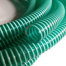 Flexihose PVC Verde con spirale per evitare attorcigliamento - 19 mm & 25 mm ID TAGLIE DISP.
