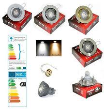 Einbau Spotleuchte Lia 230V High Power Led  5 W = 50 W Lampe GU10 Dimmbar