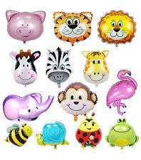 Inflatable LARGE Animal lion monkey tiger zebra Foil Balloon Birthday Decoration