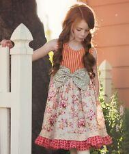 NWT Persnickety Pocket Full of Posies Brandi Dress Floral Girls sz 3 5 6 7 8