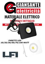 FARETTO FARO LED ESTERNO 10W 20W 30W 50W 70W 100W NE/BI LFI ITALIA