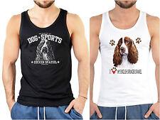 Cocker Spaniel / English Spring Spaniel  Hunderassen Trägershirt Herren Hunde