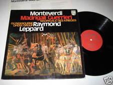 LP/MONTEVERDI/MADRIGALI GUERRIERI/LEPPARD/6500663 Phili
