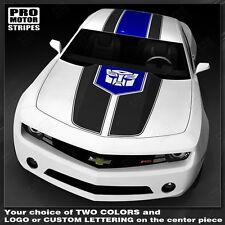 Chevrolet Camaro Multi-Color Racing Stripes Decals 2010 2011 2012 2013 Pro Motor