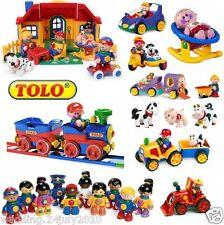 ✿ Elc Tolo Primera amigos Click Clack Squeak Poseable personas cifras pre Toybox