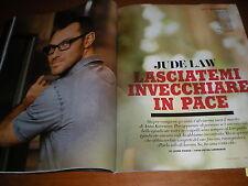 Vanity Fair.JUDE LAW, CRISTINA PARODI, FARIDA KHELFA, ENRICO LUCHERINI,www