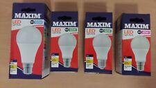 Maxim LED GLS Bulbs 6w 10w 16w BC B22 ES E27 Cool White 4000K  40w 60w 100w