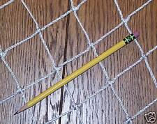 """40' X 3' High School Nylon Fence Netting Heavy Duty 2"""" Nylon #21 DIRTY / STAINS"""