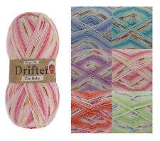 Baby Drifter DK Doble Knitting Acrílico Mix De Hilados Super Suave King Cole Lana 100g