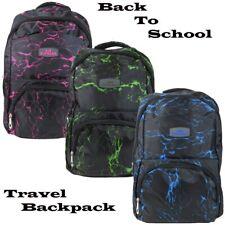 Unisex Boys Girls School Large Backpack Travel Rucksack Mens Bag