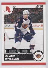 2010-11 Score Rookies & Traded #573 Blake Wheeler Atlanta Thrashers Hockey Card
