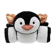 "Kids Animal Adventure Sleeping Bag NEW OWL  & PENGUIN 56""x 27"""