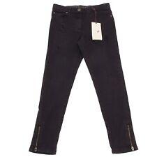 6144P jeans slim nero bimba STELLA McCARTNEY trousers pants kids