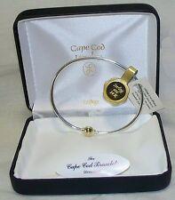 NEW LeStage Cape Cod Bracelet, 14K screwball 925 Silver, 2 tone, made U.S.A.