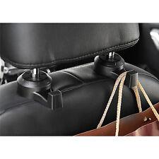 M&C 2Pcs Universal Car Truck Suv Seat Back Hanger Organizer Hook Headrest Holder