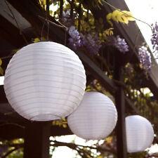 Retro Paper Lanterns Outdoor Wedding Birthday Party DIY Lamp Light Shell Decor
