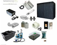 Complete Canna Aqua Hydro Hydroponic Grow Room Tent Fan Light Kit 600w 1.2m2