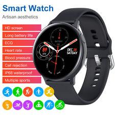 HD Smart Watch ECG Heart Rate Blood Pressure Oxygen Fitness Tracker Bracelet
