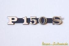 VESPA Emblem Schriftzug Seitenhaube - P150S / P 150 S - Schwarz - PX Lusso alt