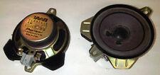 """SAAB 9-3 93 POSTERIORE pacco scaffale Altoparlanti x2 4"""" 2004 - 2011 12801615 4-Door"""