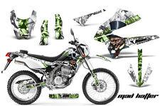 AMR RACING MOTOCROSS D TRACKER OFF ROAD DECAL WRAP KAWASAKI KLX 250 08-12 MTWSG