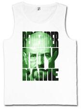 REMEMBER MY NAME TANK TOP VEST - Breaking Mr. Walter White Meth Heisenberg Bad