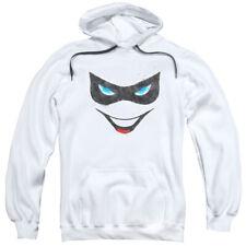 Batman Harley Face Mens Pullover Hoodie