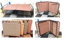 FOLDING PORTABLE SINGLE BED GARDEN CAMPING INDOOR FURNITURE INDIAN MANJA CHOOSE