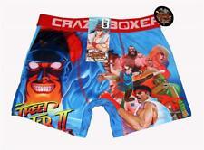 CRAZY BOXER STREET FIGHTER CAPCOM Cartoon Blue Boxer Briefs Men's NWT 2018