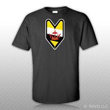 Bruneian Driver Badge T-Shirt Tee Shirt Free Sticker wakaba soshinoya Brunei