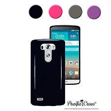 Coque housse étui pour LG G3 souple translucide couleur au choix + stylet offert