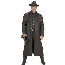Schwarzer Cowboy Mantel XL 54 Revolverheld, Sheriff, Wilder Westen Cowboymantel