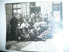 PHOTO ANCIENNE  MILITAIRES 1920 VIOLON INSTRUMENTS