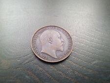 Edward VII Farthing 1902 Better Grade (37D)