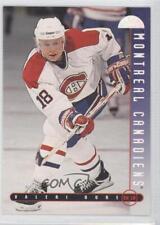 1995-96 Leaf #39 Valeri Bure Montreal Canadiens Hockey Card