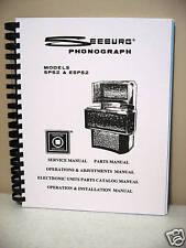 Seeburg Model SPS2 & ESPS2 Jukebox Manual