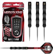 Mervyn King Black Onyx 90% Tungsten Steel Tip Darts by Winmau