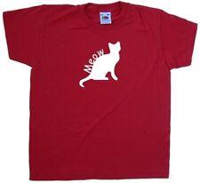 Meow Cat T-shirt pour enfant Halloween