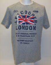 LEE COOPER Herren T - Shirt grau reine Baumwolle bedruckt LONDON XL - XXL NEU