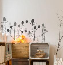 Highland Cardo estarcido decoración pintura arte reutilizable IDEAL Plantillas