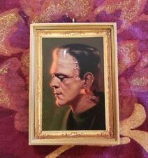 Frankenstein Halloween Christmas Ornament/Magnet/Dollhouse miniature