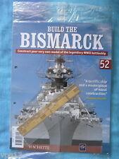 Costruire la Bismarck Hachette Fascicolo 52 NUOVO SIGILLATO
