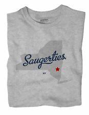 Saugerties New York NY T-Shirt MAP