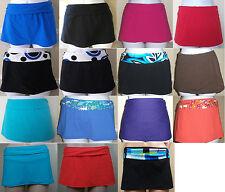 NWT Genuine 2BAMBOO swimsuit skirted bikini bottom pant, size L, XL