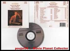 "HAENDEL ""Fireworks Music - Water Music"" (CD) Bohdan Warchal 1988"