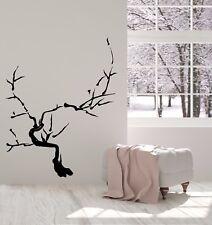 Vinyl Decal Japanese Bonsai Tree Sakura Branch Oriental Wall Sticker Decor n934