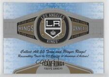 2013-14 O-Pee-Chee Rings #R-13 Los Angeles Kings Team Hockey Card