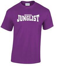 T-shirt JUNGLE mouvement drum and bass clubbing platines ponts DJ Dance DNB