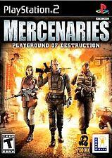 Mercenaries: Playground of Destruction (PlayStation 2 USA) New In Shrink Wrap!